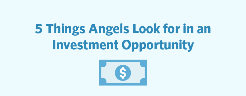 5 Things Angels Look for in an Investment Opportunity