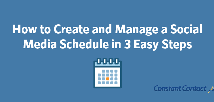 How to Create and Manage a Social Media Schedule in 3 Easy Steps