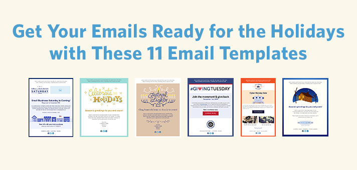 Get Your Emails Ready for the Holidays with These 11 Email Templates