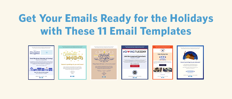 Email Template Holidays