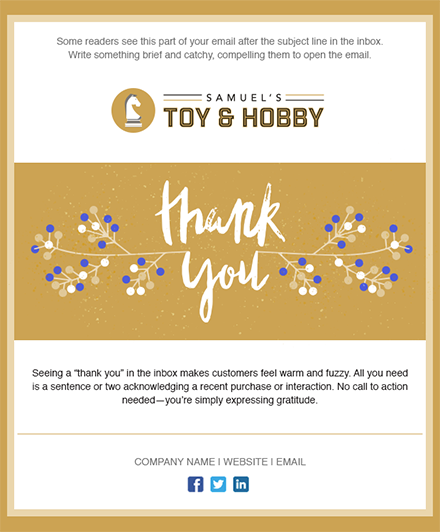 thank you email template normyinfo – Thank You Email Template