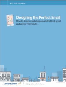 Designing the Perfect Email Guide cover