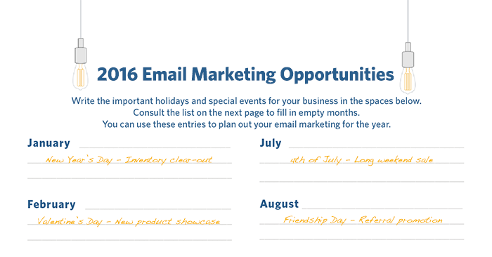 2016 email marketing opps example