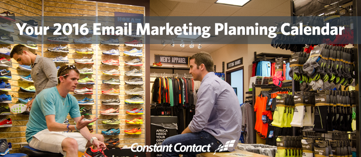 Your 2016 Email Marketing Planning Calendar
