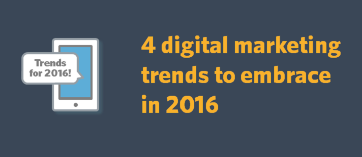 4 digital marketing trends to embrace in 2016