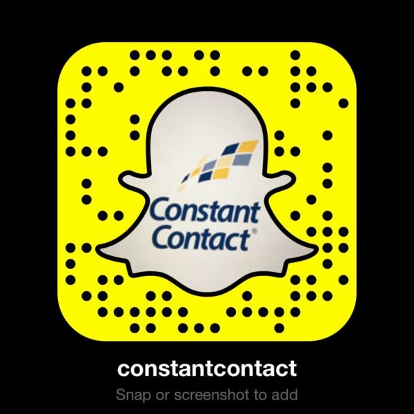 constant contact snapchat image