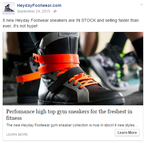 facebook ad example 2