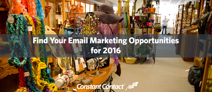 Find Your Email Marketing Opportunities for 2016