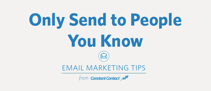 Why You Should Only Send Email to People You Know