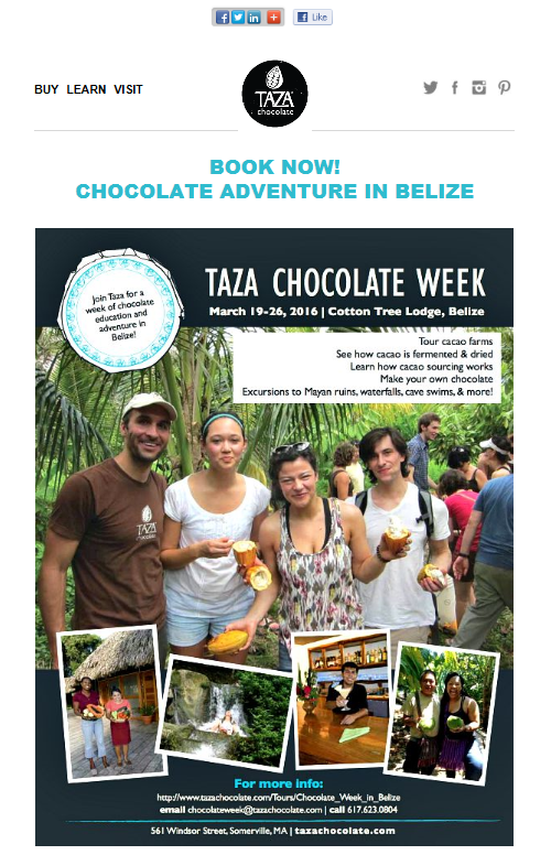 Taza Chocolate Week image