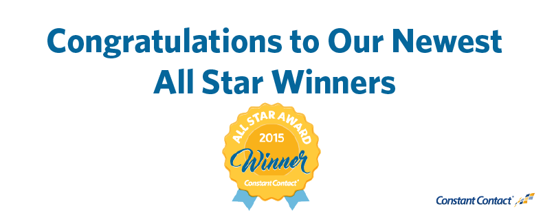 Congratulations to Our Newest All Star Winners