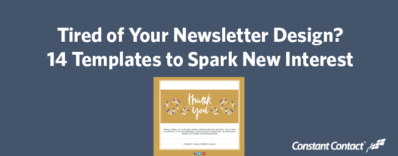 14 newsletter designs your customers will love