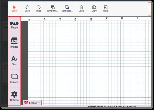 Email design tool -- artworktool