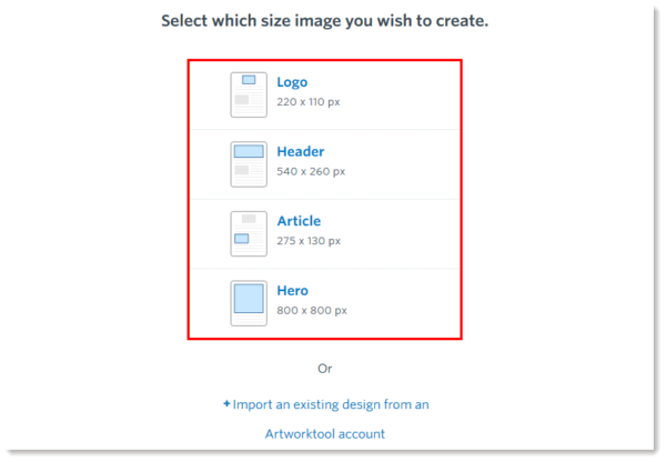 constant contact and artworktool image