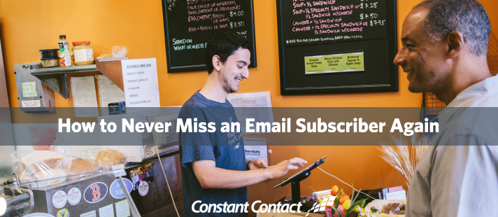 How to Never Miss an Email Subscriber Again