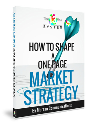 how to shape a one page market strategy ebook