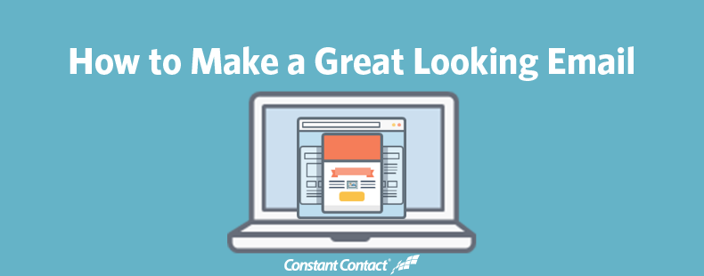 make a great looking email page image
