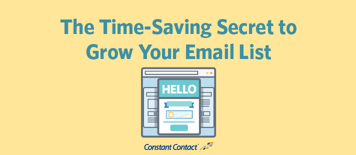 The Time-Saving Secret to Grow Your Email List