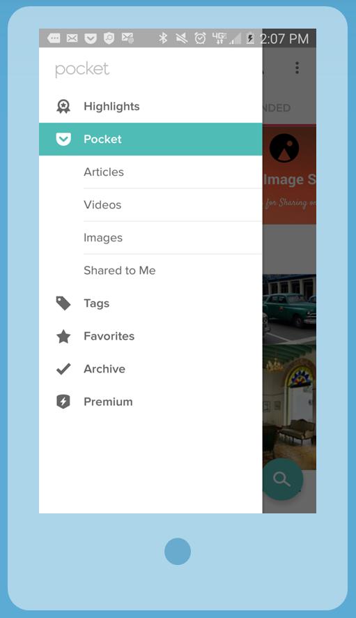 Pocket example