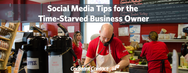 Social Media Tips for the Time-Starved Business Owner