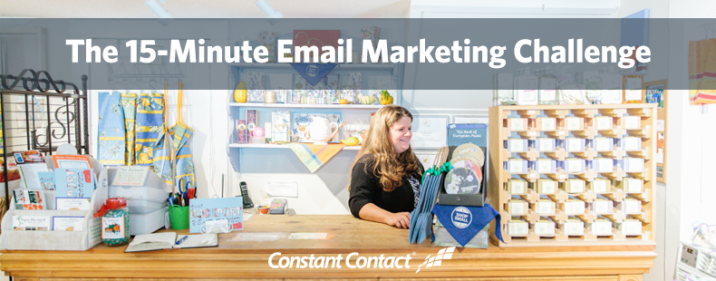 The 15-Minute Email Marketing Challenge