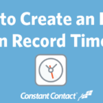 how to create an email in record time ft image