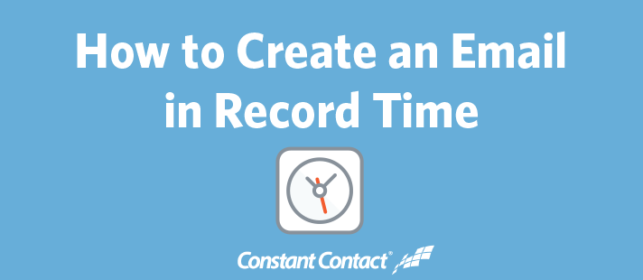 How to Create an Email in Record Time