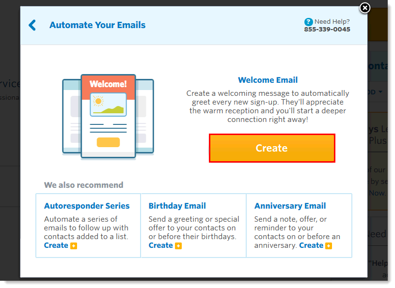 Automate your emails in Constant Contact