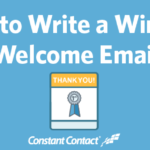 how to write a welcome email ft image
