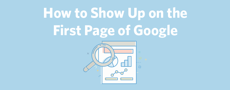 how to appear on first page of google