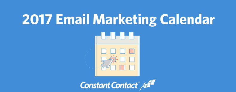 It's Here: Your 2017 Email Marketing Calendar