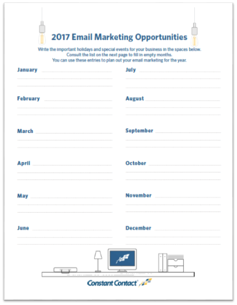 Email Marketing Plan Template Screenshot 1