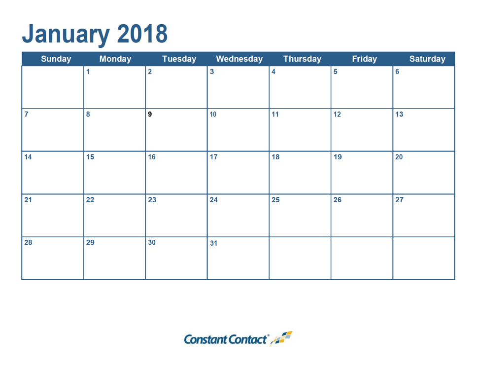 Its Here Your Email Marketing Calendar Constant Contact Blogs - Nonprofit communications calendar template