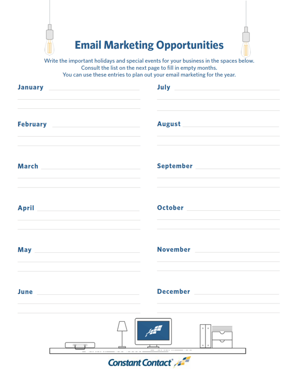 Template How To Create An Email Marketing Plan In Minutes - Content marketing schedule template