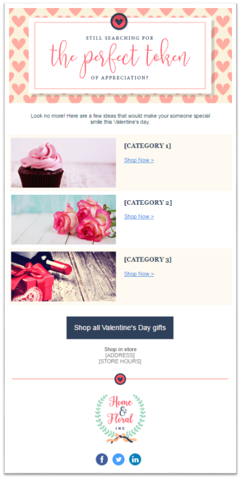 Valentine's Day emails 5