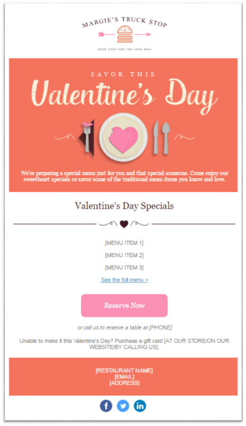 Valentine's day email 4