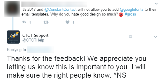 Twitter for customer service 2
