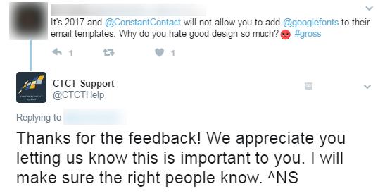 Twitter for customer service 2
