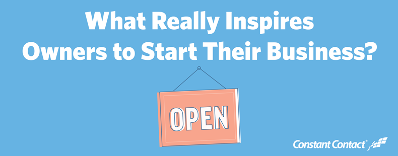 What Really Inspires Owners to Start Their Business?