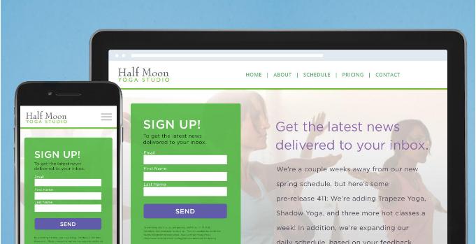 wordpress newsletter plugin screenshot