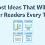 blog post ideas header