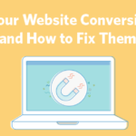 website conversions header