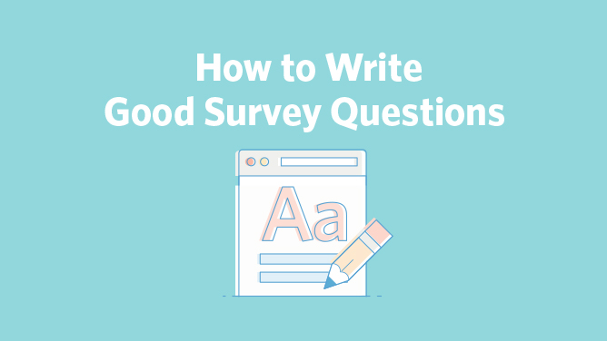 how to write survey questions How to write an effective survey questionnaire (part 1) by robert kaden it takes considerable thought to write questions that are good ones and produce a it is straight to the point and helps you understand the difference in the types of surveys by chika thu jul 17.