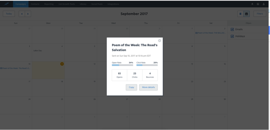 Constant Content Marketing Calendar 4