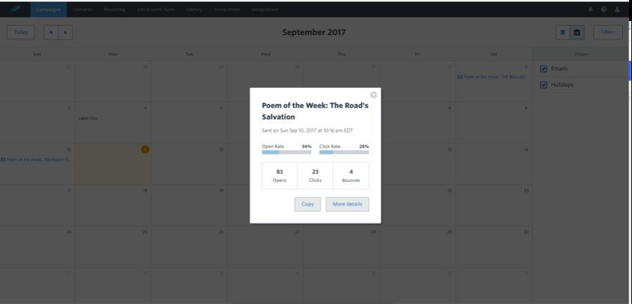 Constant Content Marketing Calendar 4