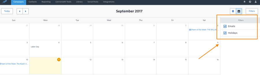 Constant Content Marketing Calendar 5