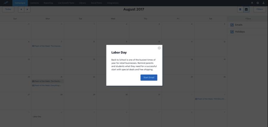 Constant Content Marketing Calendar 6