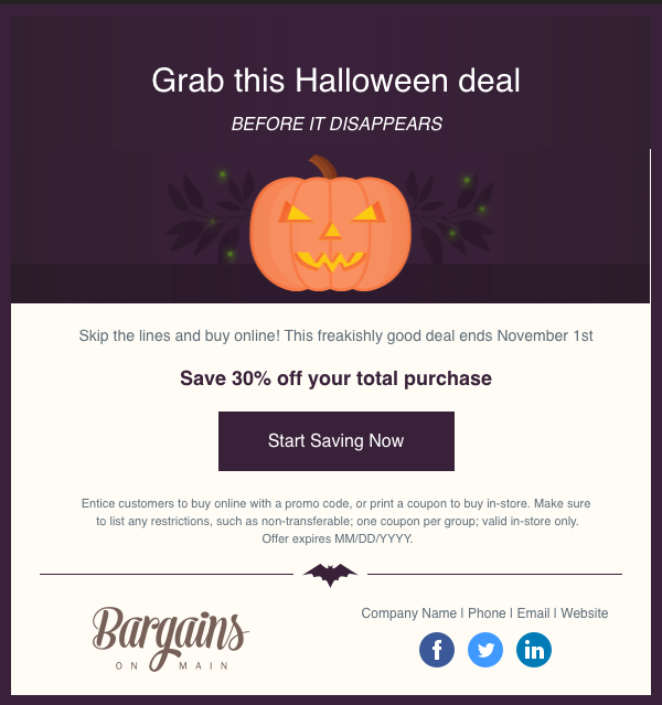 halloween coupon template april onthemarch co
