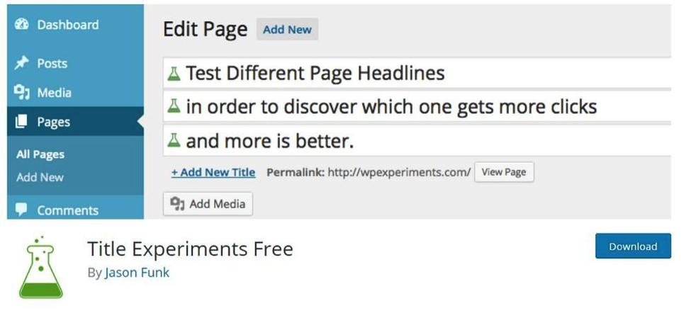 Engage readers edit page