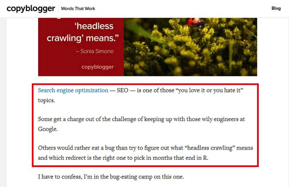 Engage Readers Copyblogger